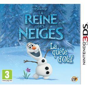 La Reine des Neiges : La Quête d'Olaf Jeu 3DS