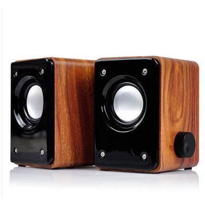 tz 825c bureau haut parleurs st r o portable petit caisson de basses en bois achat accessoire. Black Bedroom Furniture Sets. Home Design Ideas