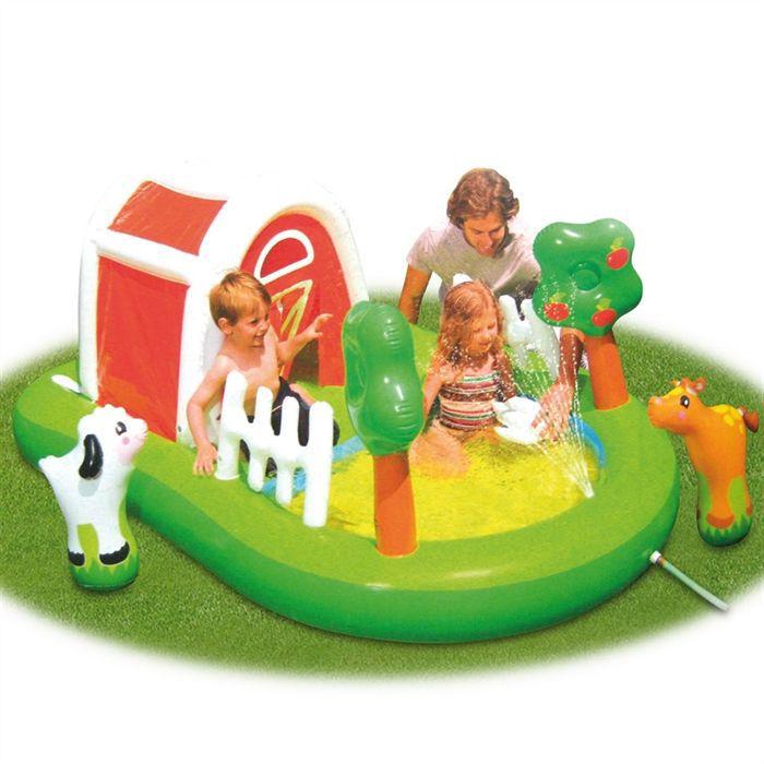 Centre de jeu farmhouse fun achat vente aire de jeux for Aire de jeu gonflable piscine