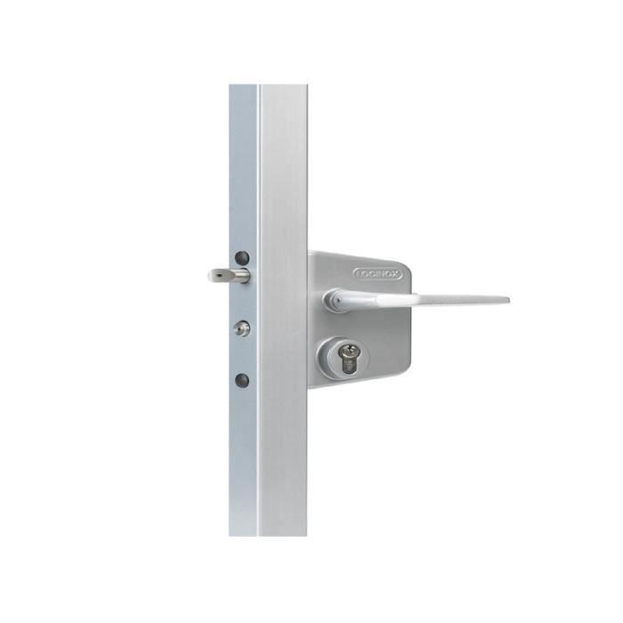 Serrure lakq u2 pour portails battants locinox lakq60u2alum achat vente s - Mecanisme pour portail automatique ...