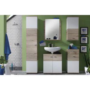 Armoire murale salle de bain achat vente armoire for Meuble mural toilette