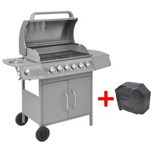 barbecue 6 feux