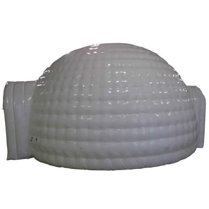 Igloo gonflable blanc 8m achat vente abri jardin for Igloo de jardin