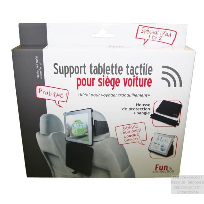 Support tablette tactile pour si ge voiture housse prix for Housse pour siege voiture