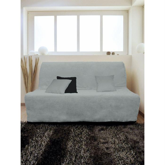 housse bz alix gris achat vente housse de canap. Black Bedroom Furniture Sets. Home Design Ideas