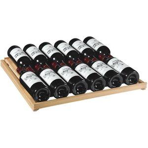 Cave à vin de vieillissement - 1 temp. - 200 bouteilles - Noir - ARTEVINO - ACI-ART220M - Pose libre