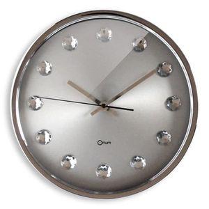 Horloge murale inox achat vente horloge murale inox for Grande horloge murale pas cher