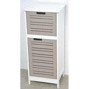 Meuble bas tiroir salle de bain achat vente meuble bas for Element salle de bain pas cher