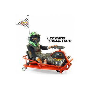 KART Drift Kart électrique les dimensions sont de 93x61
