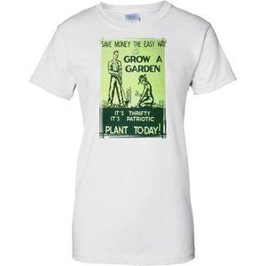 T-SHIRT Grow A Garden - WW2 Propaganda Poster - Allied Wor