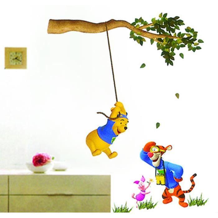 Winnie l 39 ourson tigrou stickers muraux achat vente for Decoration murale winnie l ourson