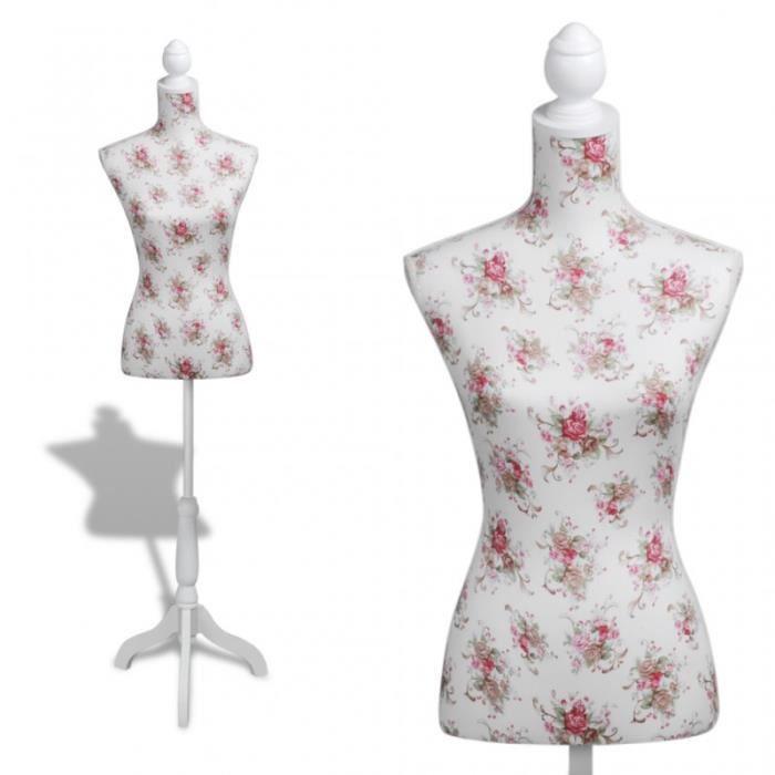 buste de couture hauteur r glable mannequin femme 2002012. Black Bedroom Furniture Sets. Home Design Ideas
