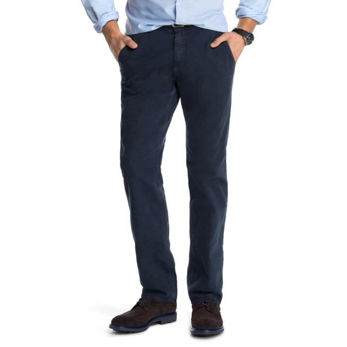pantalon chino homme strech marine bleu achat vente pantalon cdiscount. Black Bedroom Furniture Sets. Home Design Ideas