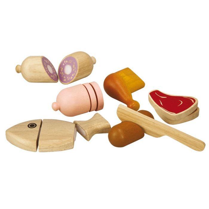 plantoys jouets en bois aliments a couper achat. Black Bedroom Furniture Sets. Home Design Ideas