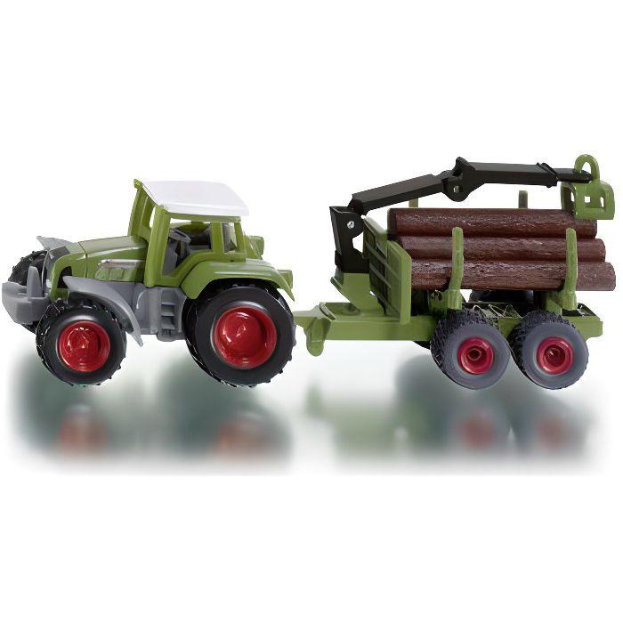 voiture camion tracteur avec remorque forestire