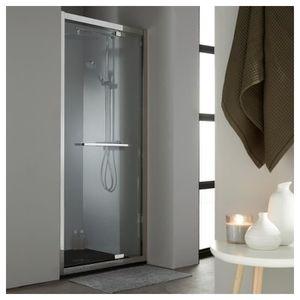 Porte pivotante de douche achat vente porte pivotante de douche pas cher - Porte de douche 90 cm pas cher ...