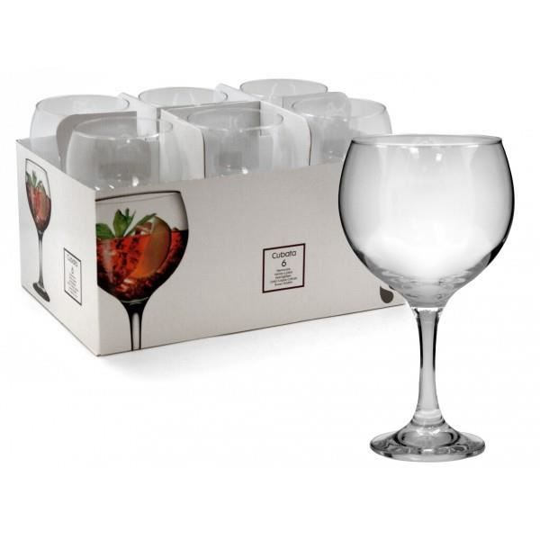 set de 6 coupe vin bourgogne en verre 630 ml achat. Black Bedroom Furniture Sets. Home Design Ideas