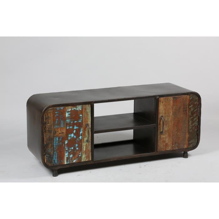 meuble t l esprit r cup usine gray meuble house achat vente meuble tv meuble t l esprit. Black Bedroom Furniture Sets. Home Design Ideas
