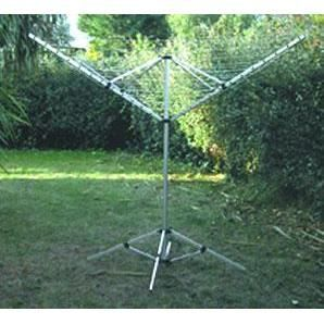 s choir parapluie 4 branches 50 m avec pied s achat vente fil linge tendoir. Black Bedroom Furniture Sets. Home Design Ideas