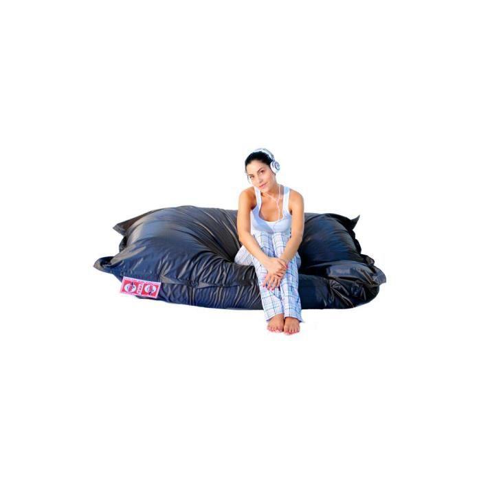 housse de pouf billes 200x200 carbone m tallis achat. Black Bedroom Furniture Sets. Home Design Ideas
