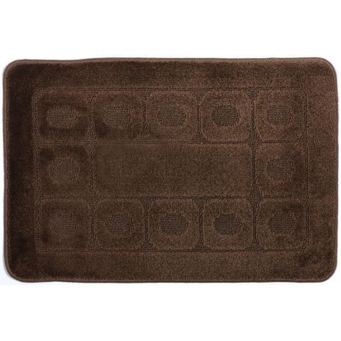 tapis d co retro 57x180 achat vente tapis cdiscount. Black Bedroom Furniture Sets. Home Design Ideas