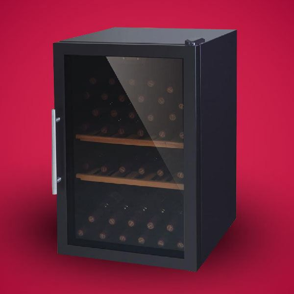 cave vin 52 bouteilles achat vente cave vin cdiscount. Black Bedroom Furniture Sets. Home Design Ideas