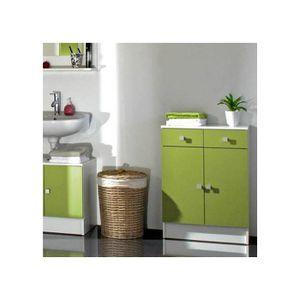 Meuble bas tiroir salle de bain achat vente meuble bas for Meuble bas salle de bain 2 portes