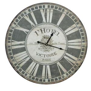 grande horloge murale vintage achat vente grande. Black Bedroom Furniture Sets. Home Design Ideas