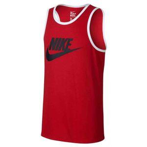 Débardeur Nike Nike Ace Logo Debardeur Homme Rouge