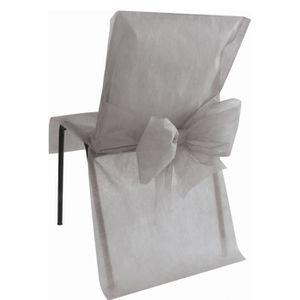 housse de chaise jetable achat vente housse de chaise jetable pas cher cdiscount. Black Bedroom Furniture Sets. Home Design Ideas