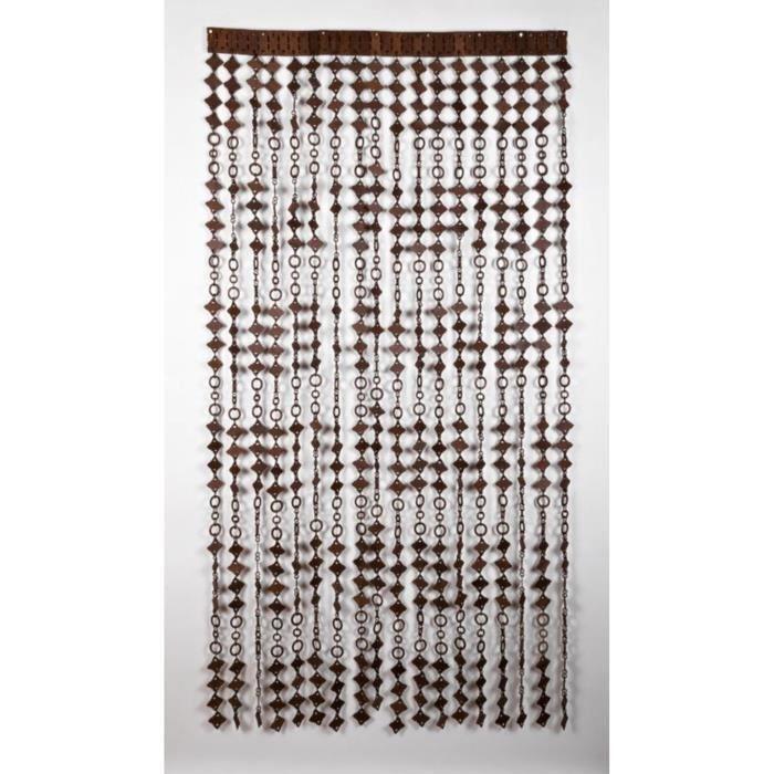 rideau de porte d coratif achat vente rideau de porte cdiscount. Black Bedroom Furniture Sets. Home Design Ideas
