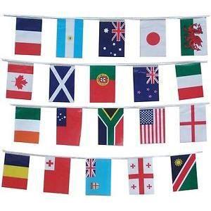 guirlande 20 drapeaux coupe du monde de rugby 2 achat vente drapeau d coratif cdiscount. Black Bedroom Furniture Sets. Home Design Ideas