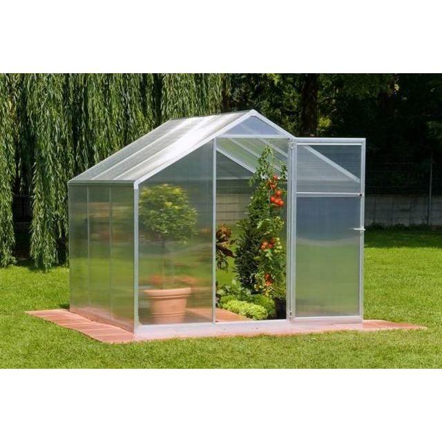 Serre de jardin 3 6m2 4mm starline ii einhell achat - Arceaux pour serre de jardin ...