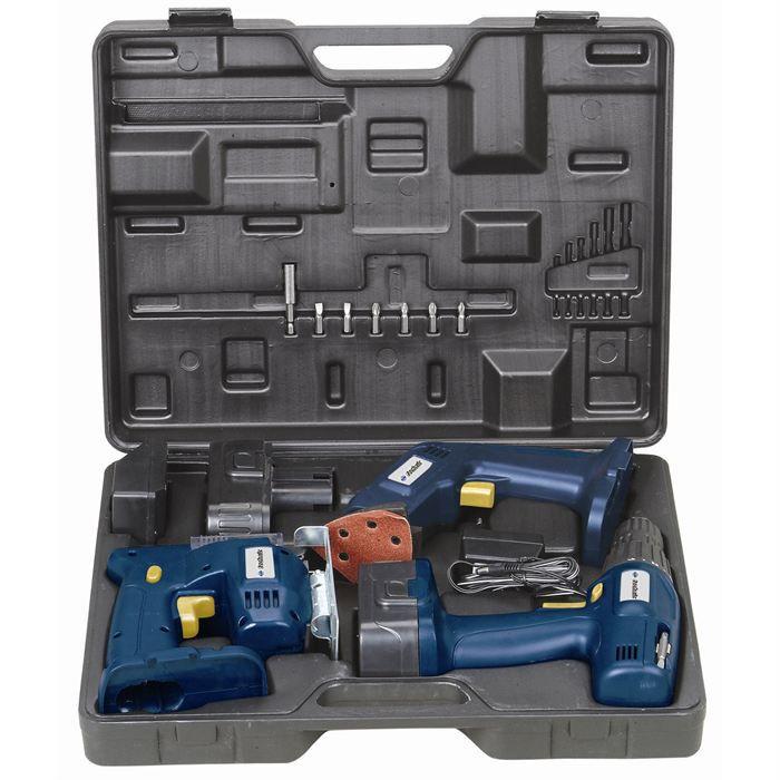 coffret boite a outils coffret mallette boite outils complet 100 pi ces marteau coffret outils. Black Bedroom Furniture Sets. Home Design Ideas
