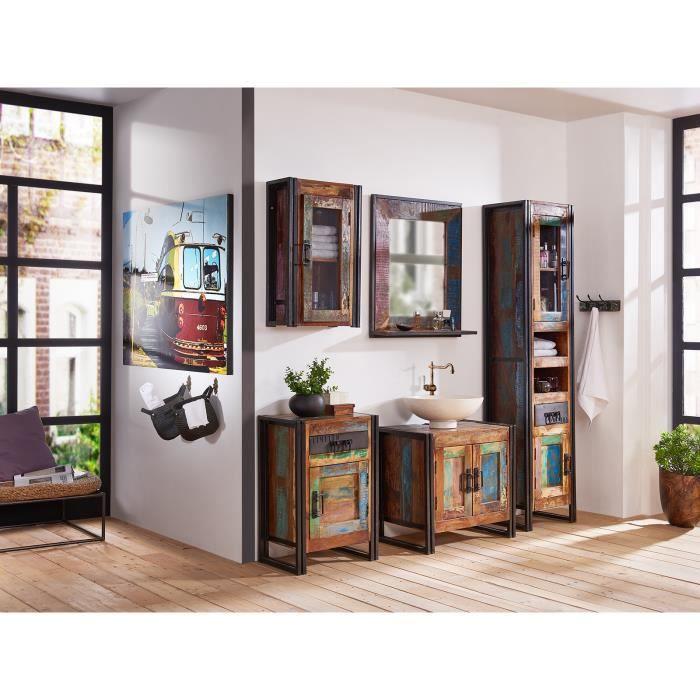 Ensemble de 5 meubles de salle de bain qu bec en bois for Meuble salle de bain quebec