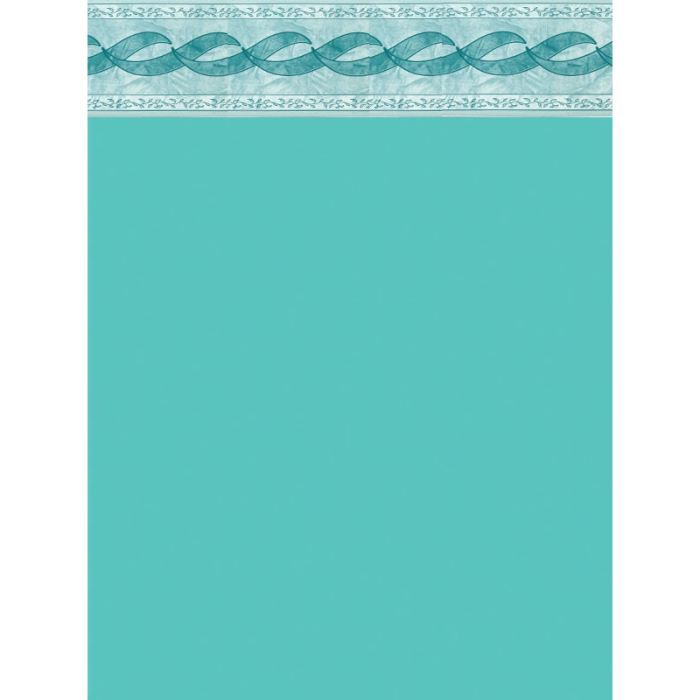 Liner 75 100 turquoise frise dia h achat for Liner piscine turquoise