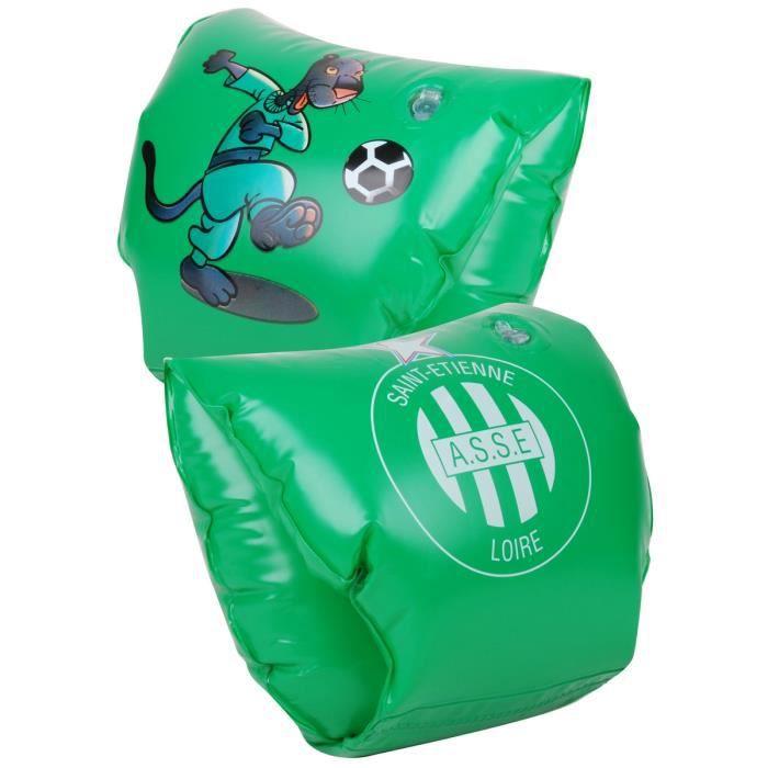 Brassard gonflable enfant football saint etienne piscine for Brassard piscine 2 ans
