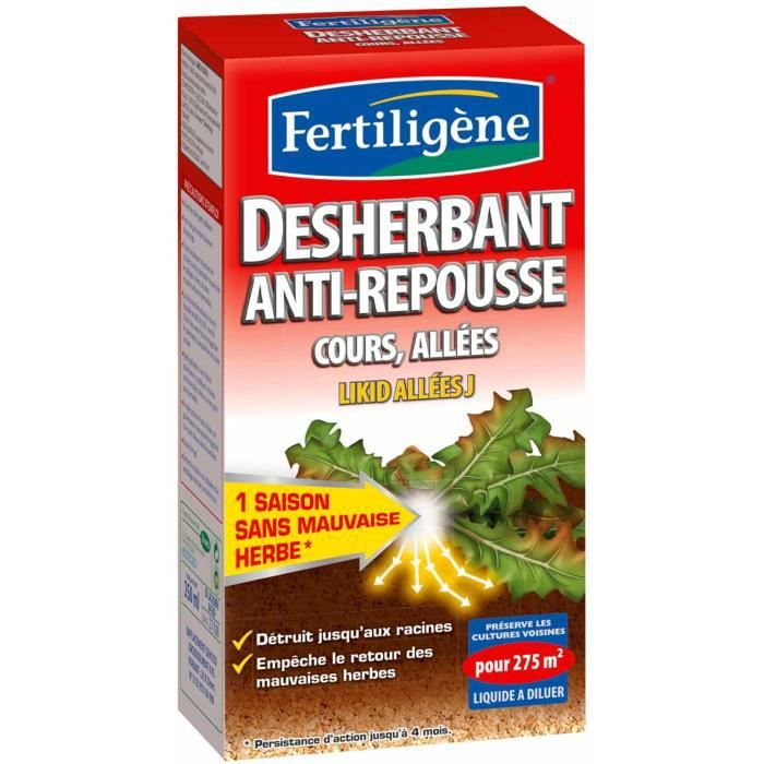 D sherbant anti repousse cours all es achat vente - Desherbant total naturel ...