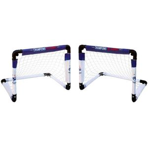 2 Minis Buts Cages Football Pliable FFF Equipe de France FTL