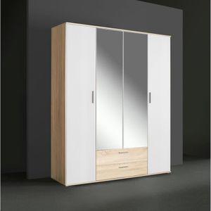 armoire achat vente armoire pas cher les soldes sur cdiscount cdiscount. Black Bedroom Furniture Sets. Home Design Ideas
