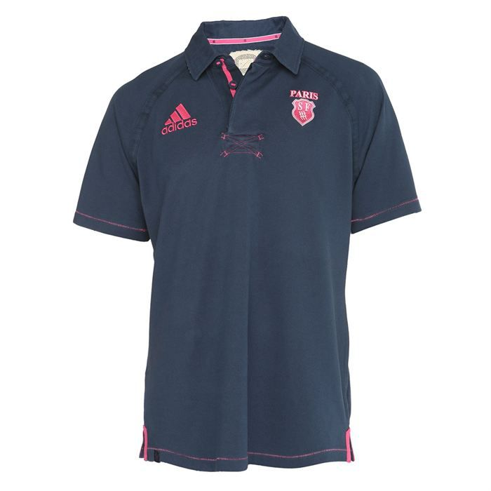 adidas polo rugby supporter stade fran ais homme achat vente polo adidas polo rugby. Black Bedroom Furniture Sets. Home Design Ideas