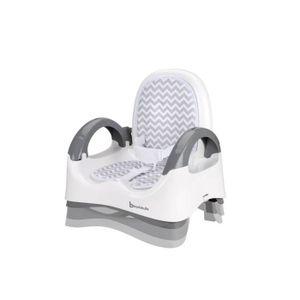 RÉHAUSSEUR SIÈGE  BADABULLE Rehausseur Confort - White/Grey