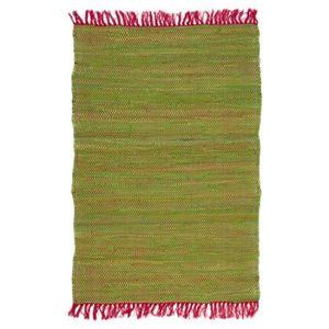 tapis tapis color 100 coton 90x60cm vertrose 60x90 - Tapis Color Pas Cher
