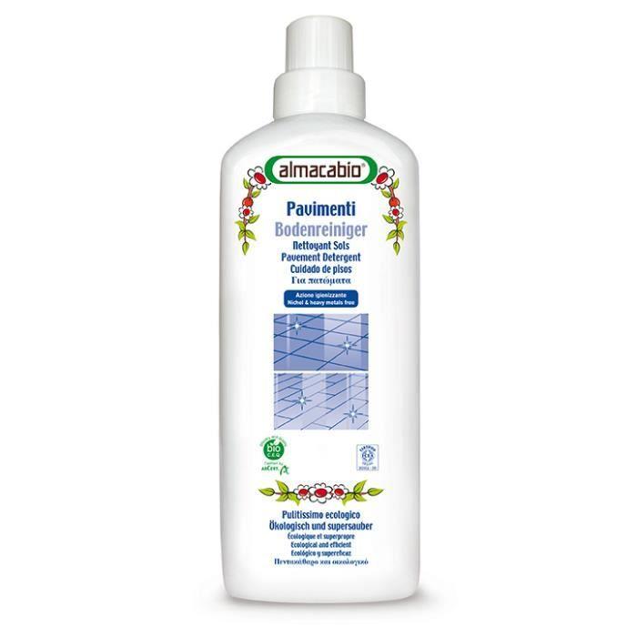 Nettoyant sol bio 1l almacabio achat vente nettoyage for Produit nettoyage carrelage