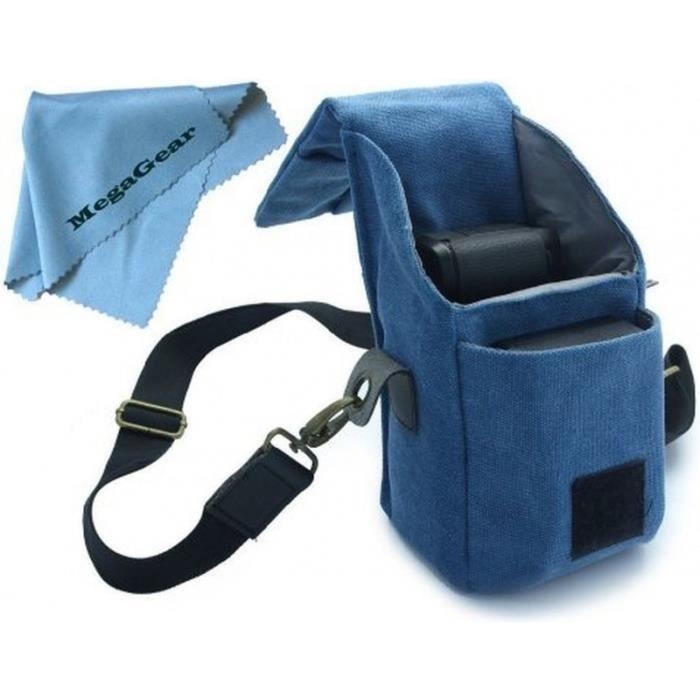 sacoche bleue pour appareils photo canon g16 g achat. Black Bedroom Furniture Sets. Home Design Ideas