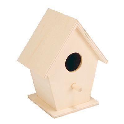 Nichoirs oiseau en bois lot de 5 achat vente support d corer nichoi - Nichoir en bois a decorer ...