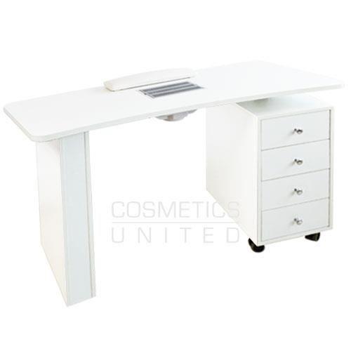 Table Manucure Design Une Colonne Avec Aspirateur Achat Vente Table De Manucure Table