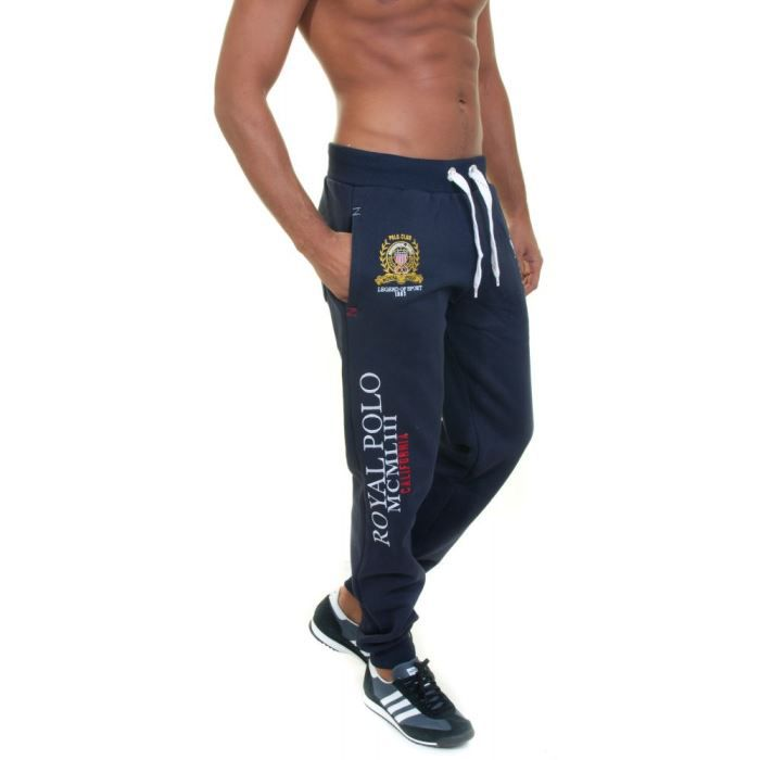 Jogging Geographical Norway Polo Pant Marine Jogging confortable