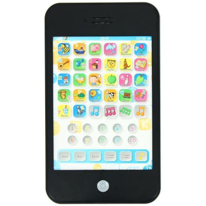 tablette ducative tactile jouet jeu enfant pil achat vente tablette enfant tablette. Black Bedroom Furniture Sets. Home Design Ideas