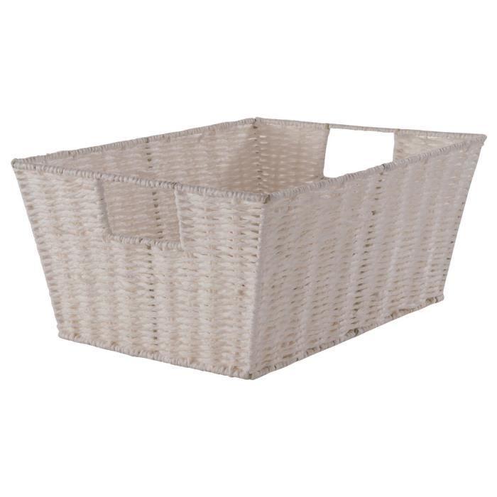 compactor panier de rangement etna 31x24x14 achat vente casier pour meuble papier. Black Bedroom Furniture Sets. Home Design Ideas